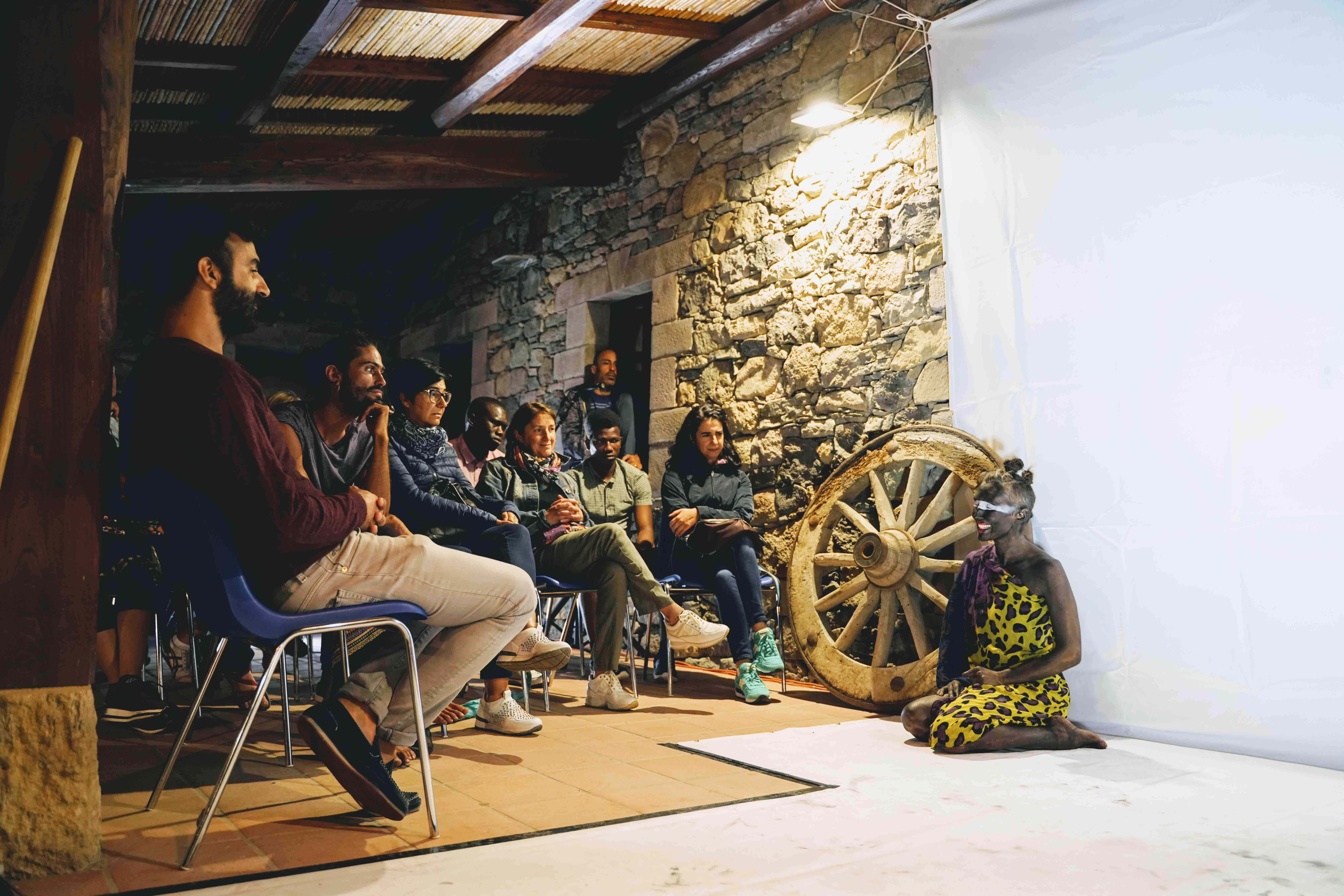 Spectrapolis Residenze artistiche sardegna art music incontro artista performance residence artistique