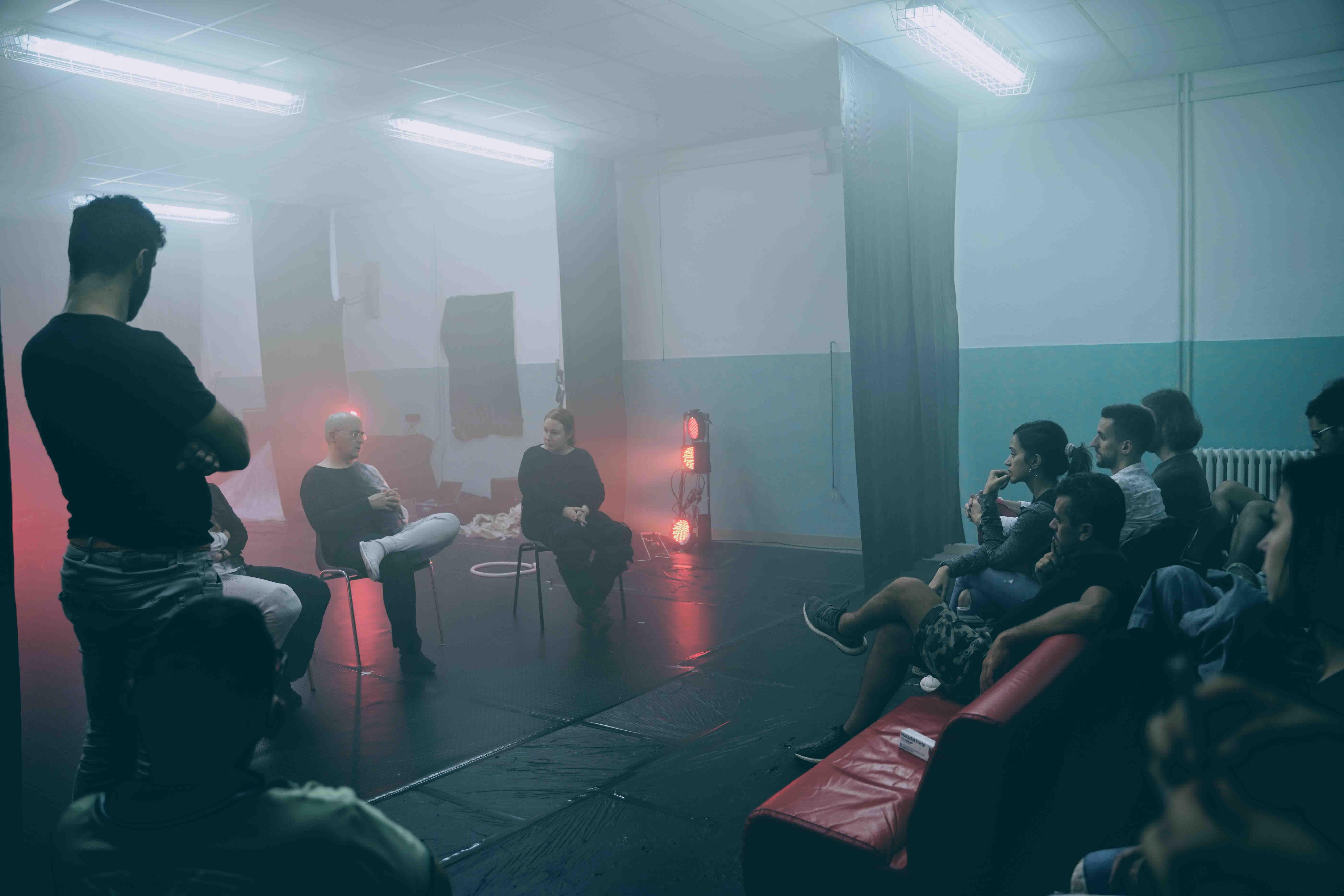 Berta Delgado Spectrapolis Residenze artistiche sardegna art music incontro artista performance